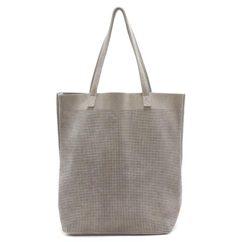 Monserat de Lucca Orado Perforated SUEDE Tote