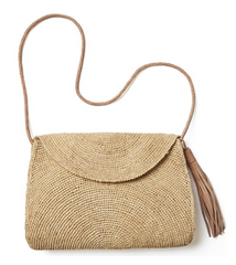 Mar Y Sol Leah Shoulder Bag with Tassel