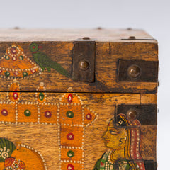Antique Temple Trunk, Sacred Cows