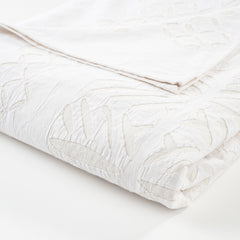Geometric Cut Work Bedspread