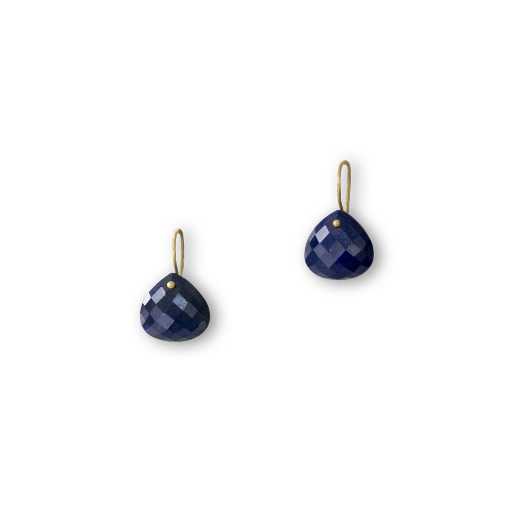 The Grace Signature Earrings in Lapis Lazuli