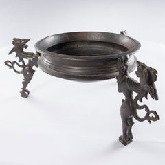 The Offering Bowl with Three Horses