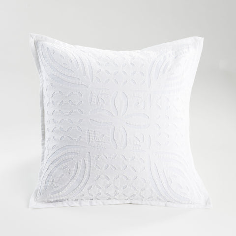 Pineapple Cut Work Pillow