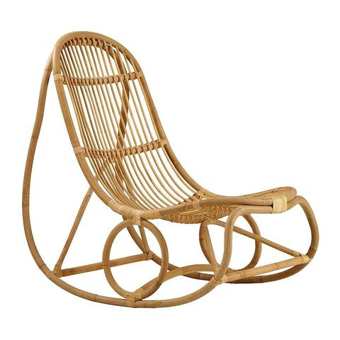 The Rattan Rocking Chair - Nanna Ditzel