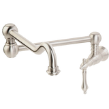 Giagni Bracchiano Traditional One Handle Wall Mount Pot Filler Faucet