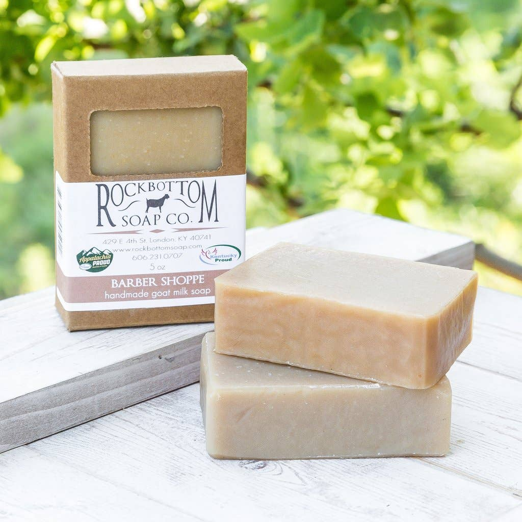 Barber Shoppe Goat Milk Soap
