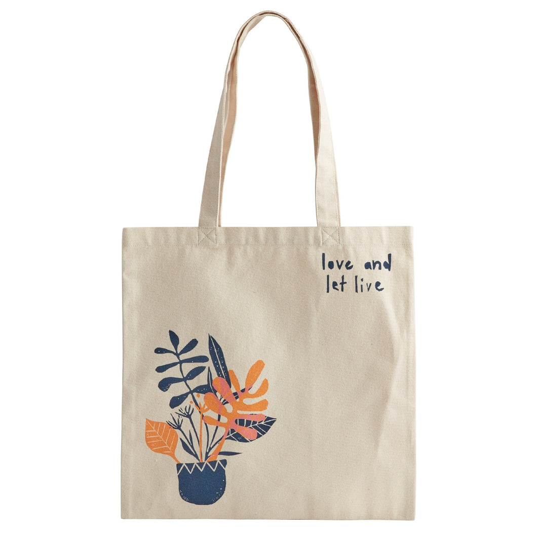 Love and Let Live Tote Bag