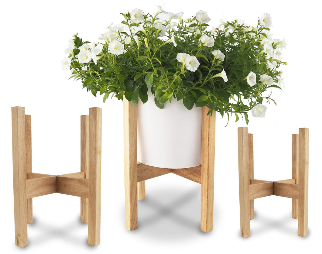 Rubber Wood Pot Stand