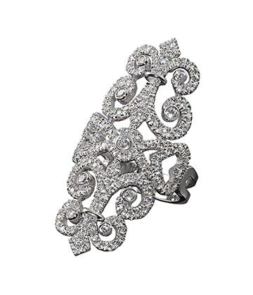 "Ring ""Imperatrice Sissi"" High jewelry"