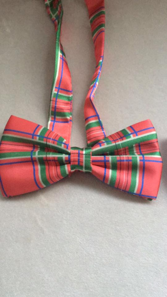 Satin Bow Tie - Kapy Bash Mode