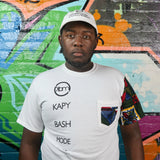 Short Sleeve Graphic Cotton T-Shirt - Kapy Bash Mode