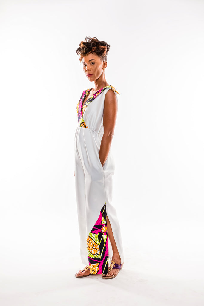 Side Slit Jumpsuit - Kapy Bash Mode