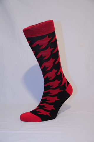 Unisex Red Dapper Sock - Kapy Bash Mode