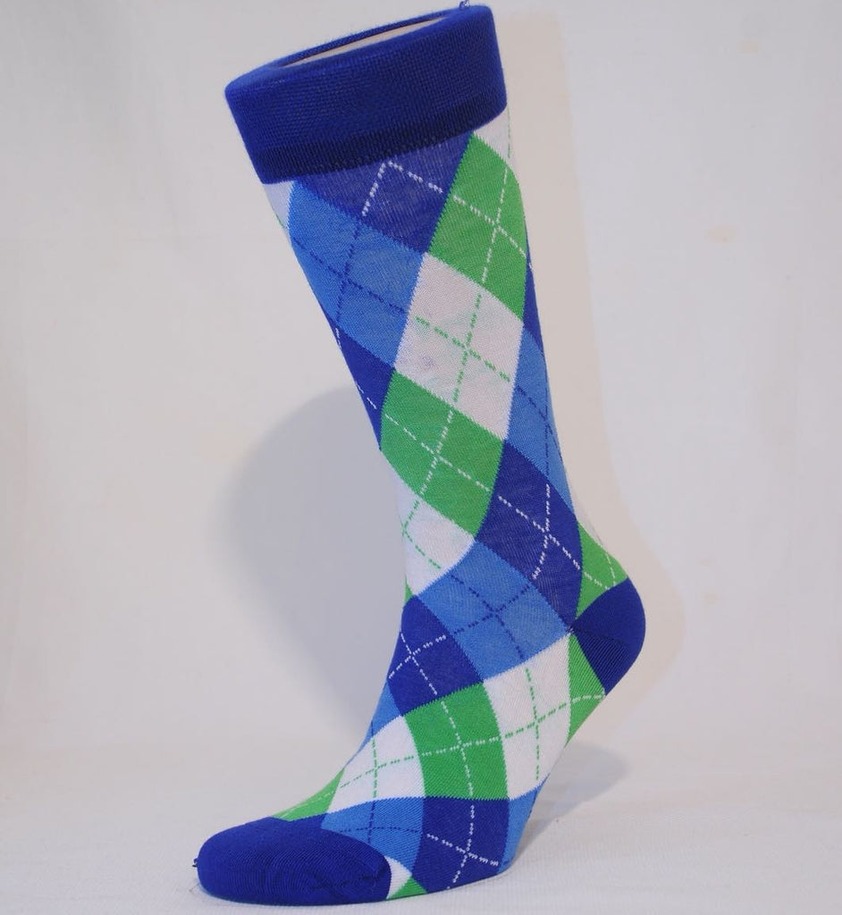 Unisex Argyle Sock - Kapy Bash Mode