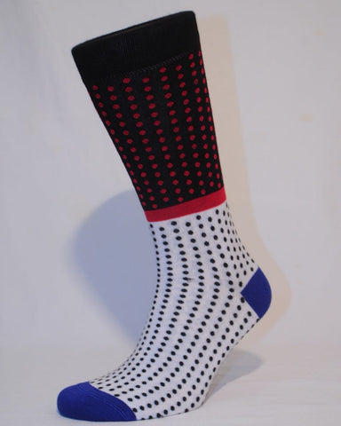 Unisex Polka Dot Sock - Kapy Bash Mode