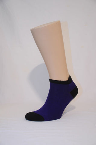 Unisex Purple Ankle Sock - Kapy Bash Mode