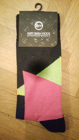 Unisex 90s Shapes Socks - Kapy Bash Mode