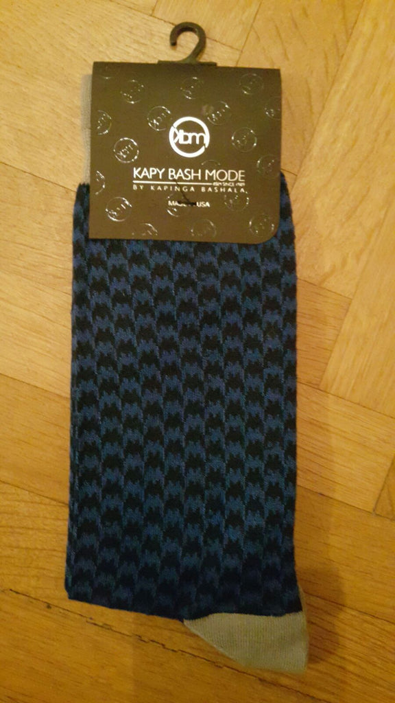 Unisex Dark blue Classic Sock - Kapy Bash Mode