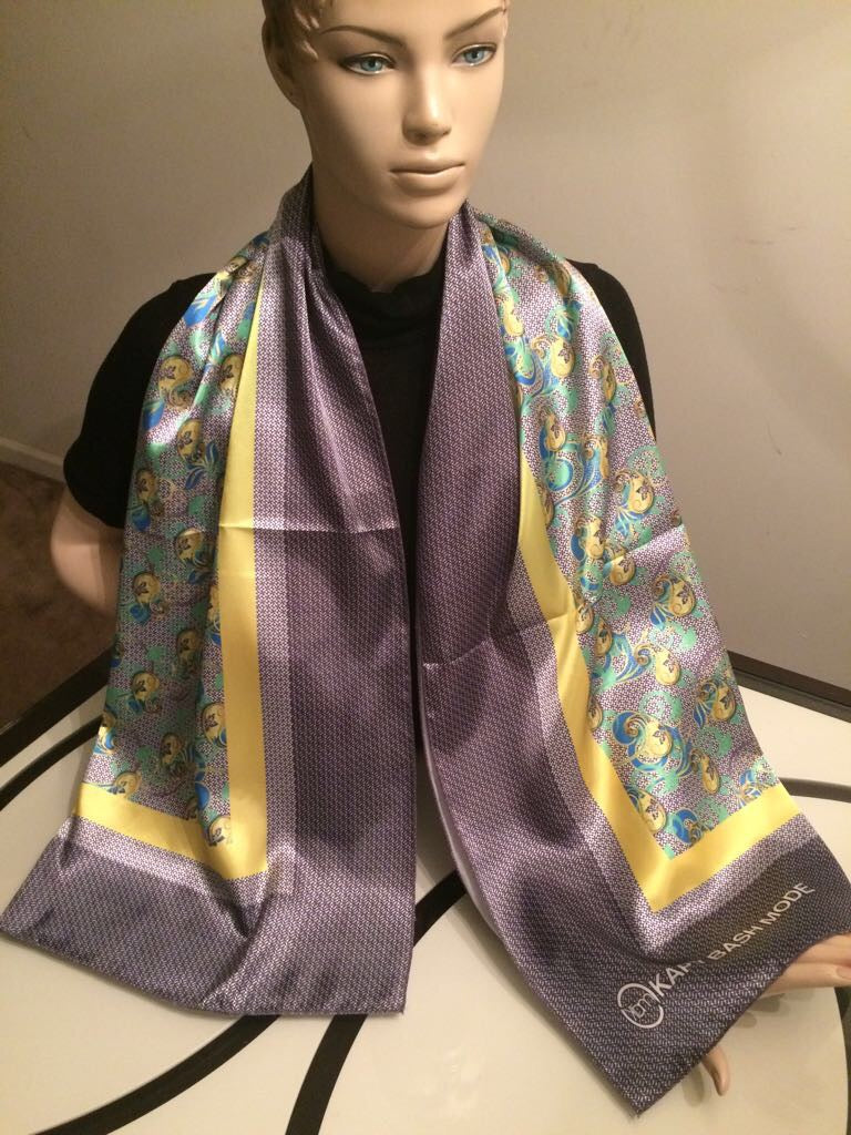 Women's Square Satin Scarf