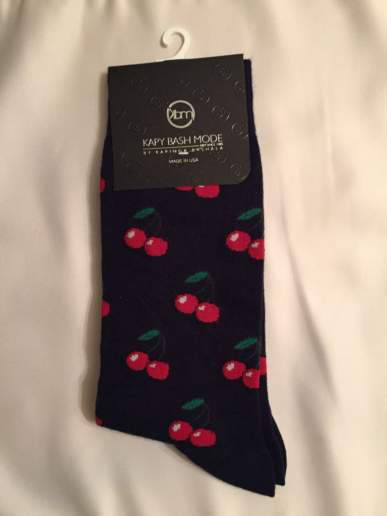 Unisex Cherry Bomb Sock - Kapy Bash Mode