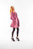 Rose Print trench coat - Kapy Bash Mode