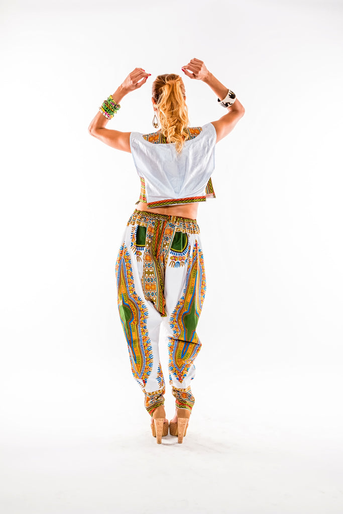 Yamado pant and crop top set - Kapy Bash Mode