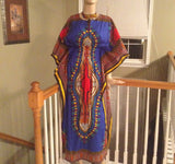 Colorful Wrap Dress - Kapy Bash Mode