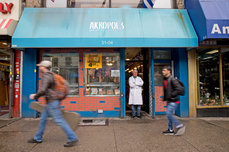 Akropolis Meat Market - Astoria, Queens, New York - NY Times