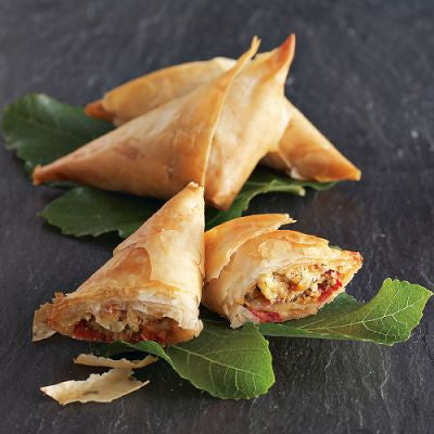 Sun Dried Tomato & Roasted Garlic Tiropita