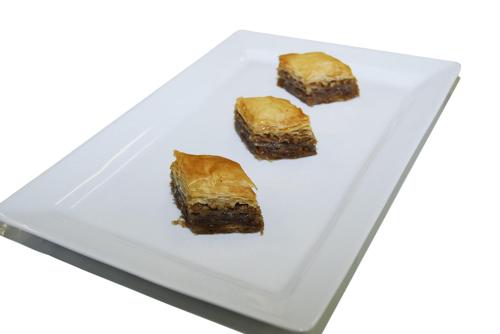 Traditional Honey & Walnut Baklava - Katina's Greek Foods