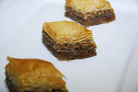 Greek Honey & Walnut Baklava Dessert