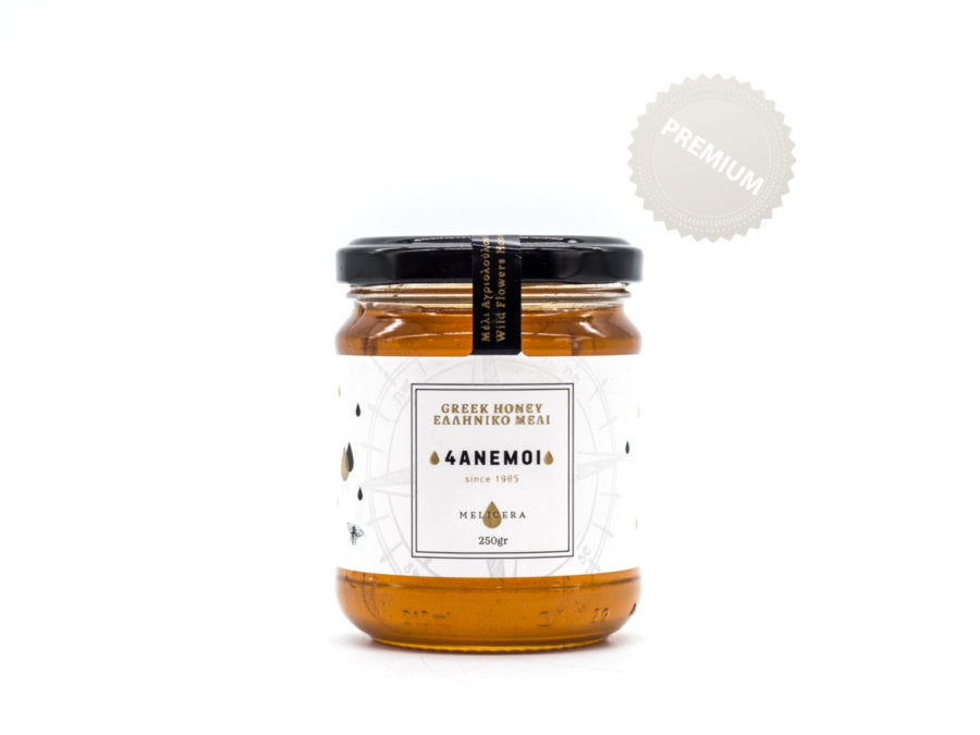 Melicera Greek Wildflower Honey - 250 gr