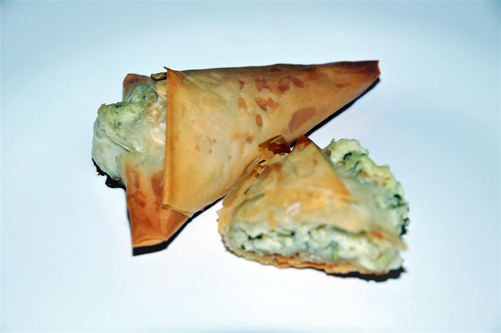 Tiropita with Lemon & Capers - Katina's Greek Foods