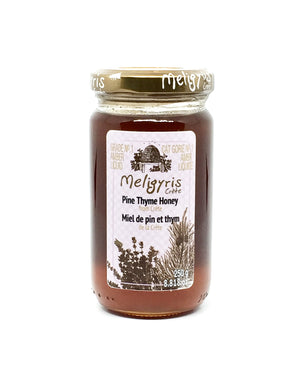 Meligyris Cretan Pine Thyme Honey 250g - Katina's Greek Foods