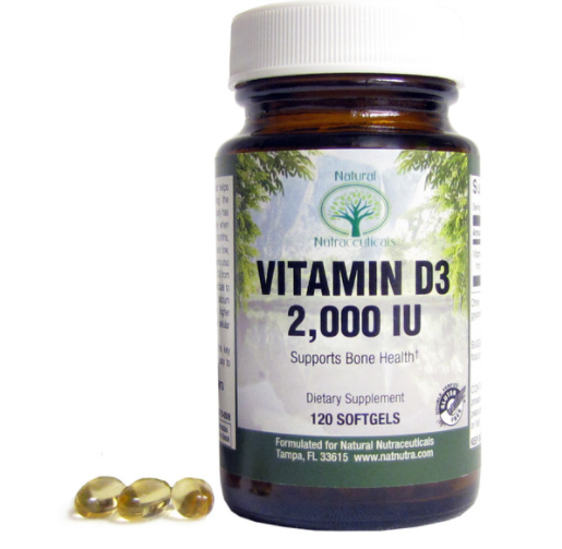 Natural Nutra, bone health, Vitamin D