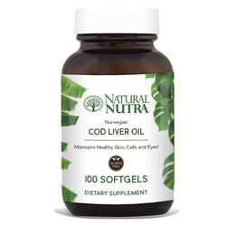 Cod Liver Oil - Natural Nutra