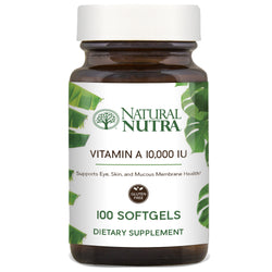 Natural Nutra Vitamin A 10,000 IU