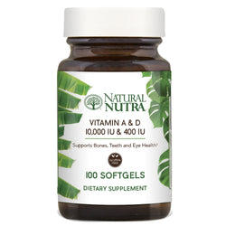 Natural Nutra Vitamin A and D