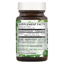 Natural Nutra Folic Acid
