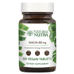 Niacin 100mg - Natural Nutra