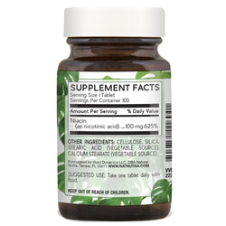 Natural Nutra Niacin 100mg