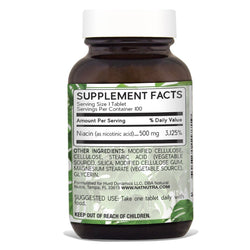 Natural Nutra Niacin 500 mg