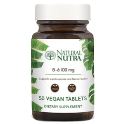 Natural Nutra Vitamin B6 100mg