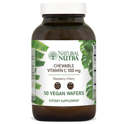 Natural Nutra Chewable Raspberry-Cherry Vitamin C
