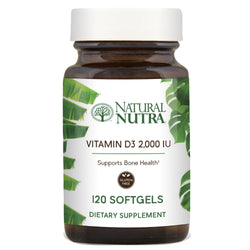 Natural Nutra Vitamin D3 2,000 IU
