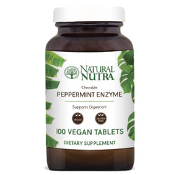 Chewable Peppermint Enzymes - Natural Nutra