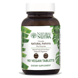 Natural Nutra Chewable Tropical Fruit Papaya