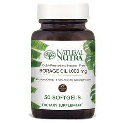Natural Nutra Borage Oil