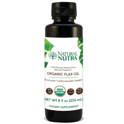 Flaxseed Oil - Liquid - Natural Nutra