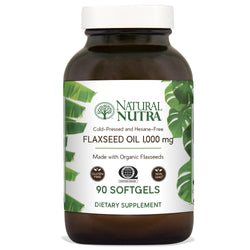 Natural Nutra Flaxseed Oil - Softgels